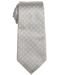 Gucci Tan and Brown Diamante Silk Tie - Lyst