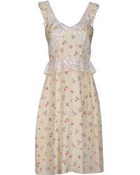 Jill Stuart Kneelength Dress - Lyst