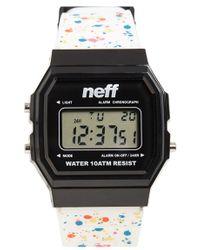 Neff - 'flava Xl' Digital Watch - Lyst