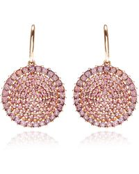 Shawn Ames - Rainbow Earrings with Full Cut and Square Cut Gray Sapphires - Lyst