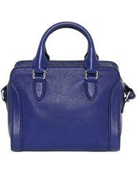 Alexander McQueen Blue Mini Padlock - Lyst