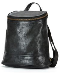 Frye Small Campus Backpack In Black As Seen On Julianne Hough And Sarah Hyland At Coachella black - Lyst