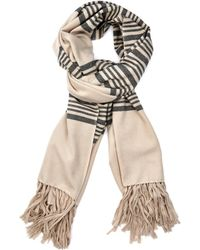 Isabel Marant Edith Cashmere-Blend Blanket Scarf - Lyst