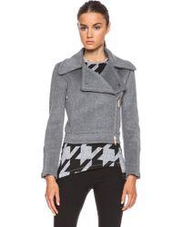 Stella McCartney Gaia Moto Jacket - Lyst