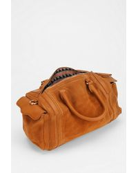 BDG - Silliman Suede Leather Mini Duffle Bag - Lyst
