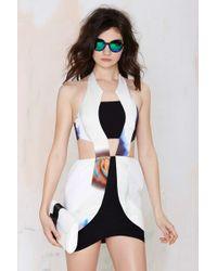 Nasty Gal Asilio All Nighter Cutout Dress - Lyst