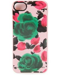 Marc By Marc Jacobs Rose Print Iphone 5S Cover - Lyst