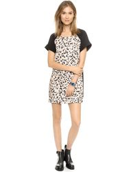 Keepsake Do You Remember Dress  Leopard Print - Lyst