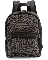 Ash - Domino Beaded Leather Backpack - Lyst