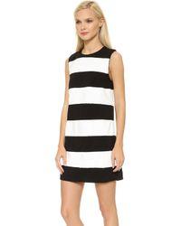 Rachel Zoe Alessandra Dress Whiteblack - Lyst