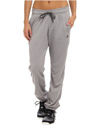 Adidas Ultimate Banded Fleece Pant - Lyst