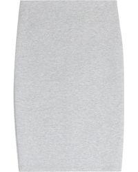 McQ by Alexander McQueen Jersey Pencil Skirt - Lyst