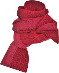 Prabal Gurung Jacquard Intarsia Wool Scarf - Lyst