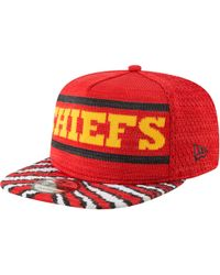 brand new 91d5c 03aa5 KTZ - Kansas City Chiefs Nfl 9fifty Fresh Front Zubaz Snapback - Lyst