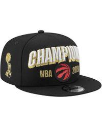 finest selection 8cf0b a119b KTZ - Toronto Raptors Nba 9fifty Champions Snapback - Lyst