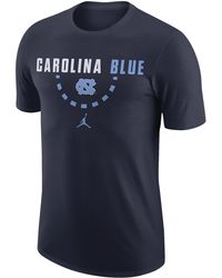 4f6d20e46b5 Nike Men's Short-sleeve North Carolina Tar Heels T-shirt in Blue for ...