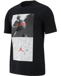 3bfd8d3526a Nike Jordan Dry Flight Photo Basketball Graphic T-shirt in Red for Men -  Lyst