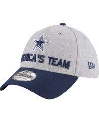 best service 01bc3 43bd7 KTZ - Dallas Cowboys Nfl 39thirty On Stage Cap - Lyst