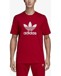 innovative design 2a6d7 8c00d adidas Originals - Trefoil T-shirt - Lyst