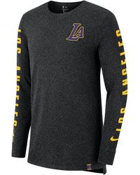 1bc7a9593e9e1f Marcelo Burlon Los Angeles Lakers T-shirt in Black for Men - Save 58% - Lyst