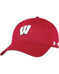 cheaper ccd6c ac01d adidas Wisconsin Badgers Script Bucket Hat in Red for Men - Lyst
