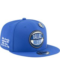 free shipping d39e0 e0293 KTZ - Dallas Mavericks Nba 9fifty On Stage Cap - Lyst