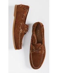 Polo Ralph Lauren - Merton Boat Shoes - Lyst