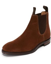 Loake - Chatsworth Suede Chelsea Boots - Lyst