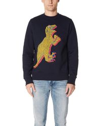 PS by Paul Smith - Large Dino Sweatshirt - Lyst