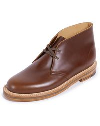 Clarks - Desert Welt Leather Boots - Lyst
