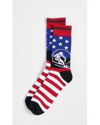 Polo Ralph Lauren - Skier With Full Usa Flag Socks - Lyst