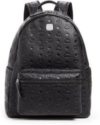 MCM - Ottomar Monogrammed Leather Medium Backpack - Lyst