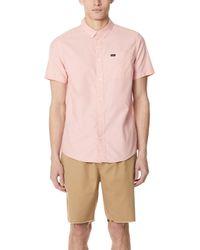 RVCA - That'll Do Oxford Shirt - Lyst
