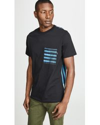 PS by Paul Smith - Striped Pocket Tee - Lyst