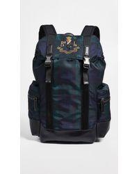 c2b1d5202d76 Polo Ralph Lauren Drawstring Leather Backpack for Men - Lyst