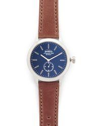 Shinola - The Bedrock 42mm Watch - Lyst