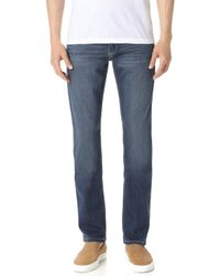 PAIGE - Federal Birch Jeans - Lyst