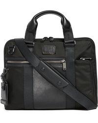 Tumi - Alpha Bravo Charleston Compact Briefcase - Lyst