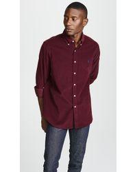 Polo Ralph Lauren - Classic Fit Corduroy Shirt - Lyst