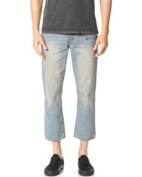 RVCA - No Wave Flood Jeans - Lyst