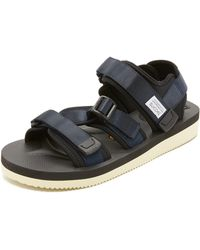 760131d3170 ... newest Lyst - Suicoke Kisee-v Sandals in Blue for Men 84a0f c024d ...