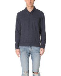 Splendid Mills - Shawl Collar Pullover - Lyst