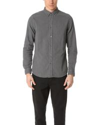 Baldwin Denim - Otis Double Face Gauze Shirt - Lyst