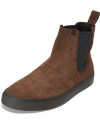 Z Zegna - California Suede Pull On Trainers - Lyst