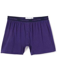 CALVIN KLEIN 205W39NYC - Knit Slim Fit Boxers - Lyst
