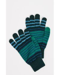 PS by Paul Smith - Compo Stripe Gloves - Lyst