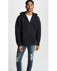 DIESEL - Hooded Sweatshirt With Embroidered Logo - Lyst