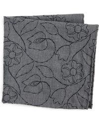 Thomas Mason - Floral Pocket Square - Lyst