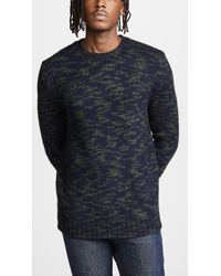 Woolrich - Printed Yarn Sweater - Lyst
