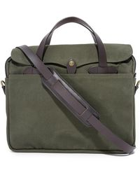 Filson - Original Briefcase Otter Green - Lyst